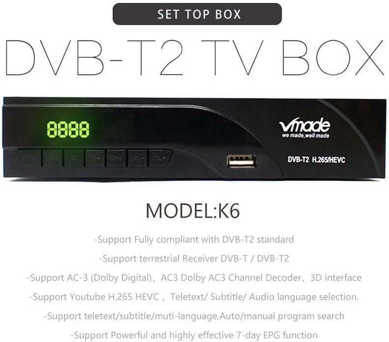 Vmade K6 Full Hd 1080p Freeview Set Top Box Digital Tv Elektronik