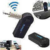 Bluetooth Wireless FM Transmitter Radio Modulator Car Styling transmetteur fm For iPod iPhone Samsung HTC LG 3.5mm Jack Car Kit Sleep mode for power conversation