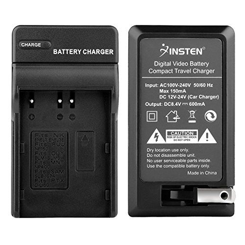 Insten Replacement EN-EL3e Battery Charger Compatible with Nikon D70 D80 D90 D100 D200