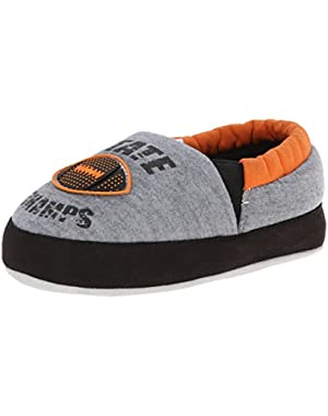 Little Boy's State Champs with 2 Piece Rubber Insert Outsole Slipper