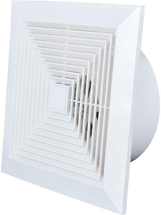 FENGRONG Ventilador de ventilación Fuerte Ventilador Silencioso Ahorro De Energía Ventilador Cuadrado Cocina Baño Extractor: Amazon.es: Hogar