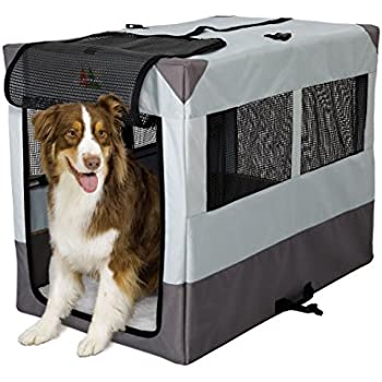 MidWest Portable Tent Crate 42 by 26 by 32-Inch  sc 1 st  Amazon.com & Amazon.com : Petego Umbra Pet Portable Pet House and Containment ...
