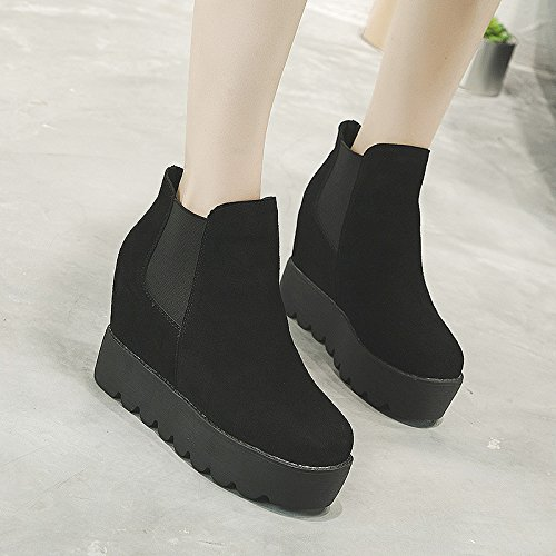 Increased Thick Thirty Autumn Shoes Within Winter Matte Women'S Versatile Foot The And Set New KPHY eight And Shoes The Women w0XWU