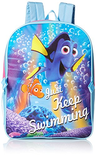 Disney Little Girls Finding Dory Backpack with Lunch, Purple, One Size Imported Luggage Accessories