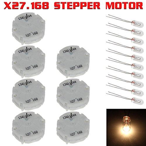 Partsam 7X GM 03 06 X27 168 Replaces XC5.168 X25.168 Stepper Motors (Gmc Envoy 06 2006 Car)