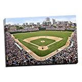 At the Ballpark, Fine Art Photograph By: Larry Malvin; One 36x24in Hand-Stretched Canvas
