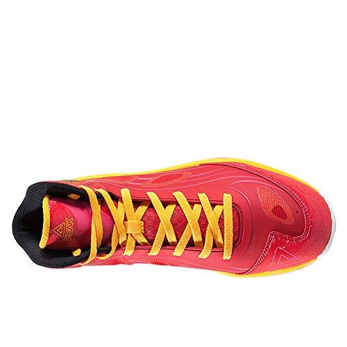 Peak Hombres Fiba series Challenger V Zapatillas De Baloncesto Rojo / Naranja