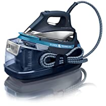 Rowenta Silence Steam Eco DG8960F0 - Centro de planchado (2400 W, 6 bares de presión, vapor continúo de 120 g/min)