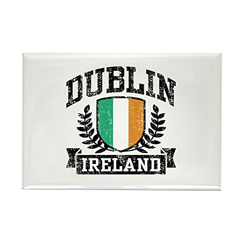 CafePress Dublin Ireland Rectangle Magnet Rectangle Magnet, 2