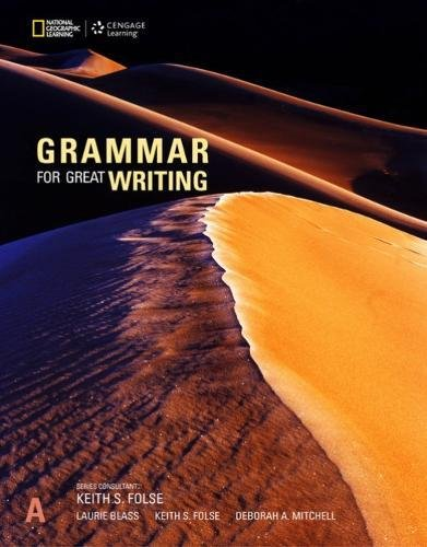 Grammar for Great Writing A