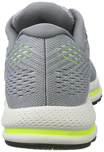 Nike Mens Air Zoom Vomero 12 Running Shoe WOLF GREY BLACK-COOL GREY-PURE PLATINUM 9.5