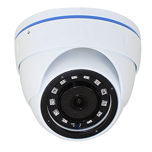 GW 16 Channel 5 Megapixel Video Day Night Security Surveillance System, 12 Weatherproof HD 5MP 2.5X 1080P Dome Cameras, Motion Detection Smart Search Email Alert