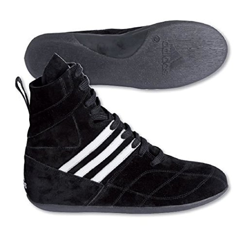 Adidas–Boxhandschuhe pieds-poings schwarz/weiß taktic Pro–bc071