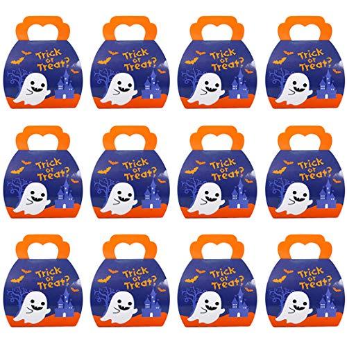 Joyibay 12PCS Halloween Candy Box Creative Candy Container Treat Box Party Favor -