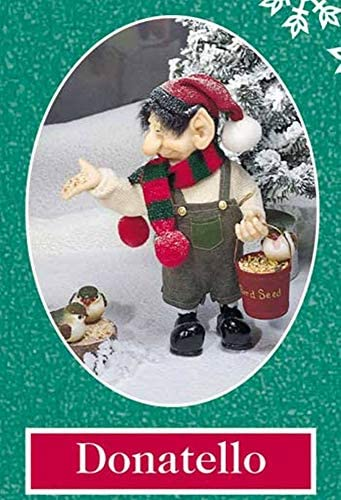 Zims 10.5 The Elves Themselves Donatello Collectible Christmas Elf Figure