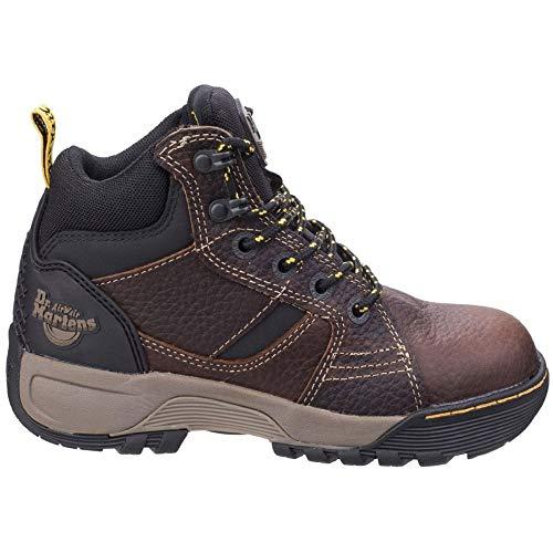 Marrón Para Teca Hombre Grapple De Seguridad Dr Martens Zapatos nTy7fCq