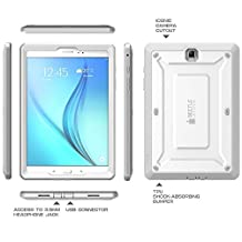 Galaxy Tab A 8.0 Case, SUPCASE Unicorn Beetle PRO Series Full-body Hybrid Protective Case with Screen Protector for Samsung Galaxy Tab A 8.0 [SM-T350] Dual Layer Design+Impact Resistant (White/Gray)