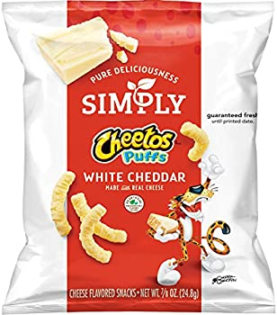 36-Count Simply Cheetos Puffs White Cheddar Cheese Flavored Snacks