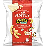 Simply Cheetos Puffs White Cheddar Cheese Flavored Snacks, 10 Count