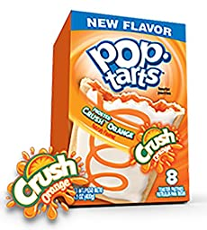 2 Boxes of Frosted Crush Orange Pop Tarts total 16