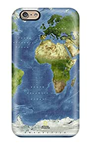 New Map Tpu Skin Case Compatible With Iphone 6