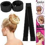 Super Simple Hair Bun Maker Set 4pcs Women Girls Kids Easy Hair