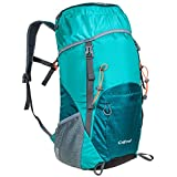 G4Free Large 40L Lightweight Water Resistant Travel Backpack/foldable & Packable Hiking Daypack(Light Blue)
