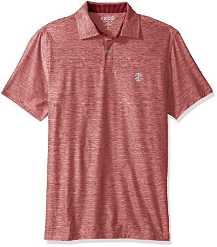 Cabernet Cotton Polo Shirt (IZOD Men's Golf Title Holder Short Sleeve Polo, Cabernet, XX-Large)