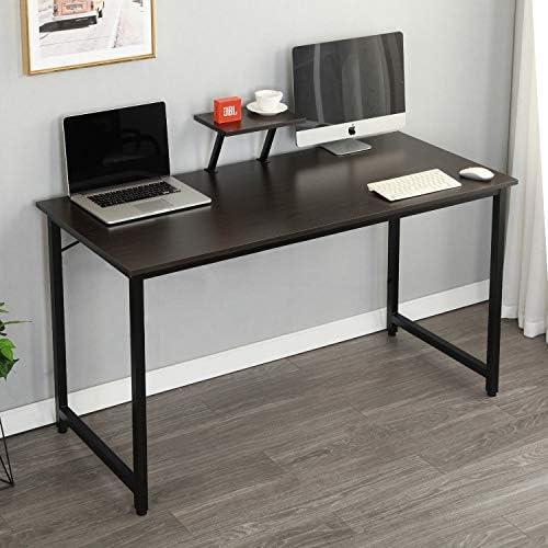 SDHYL 47.2 inches Computer Desk Home Office Workstation Large Laptop Desk
