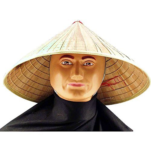 Chinese Bamboo Coolie Hat by Forum Novelties