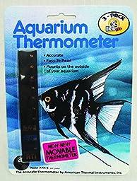 American Thermal Aquarium Thermometer Ati (Pack of 3)
