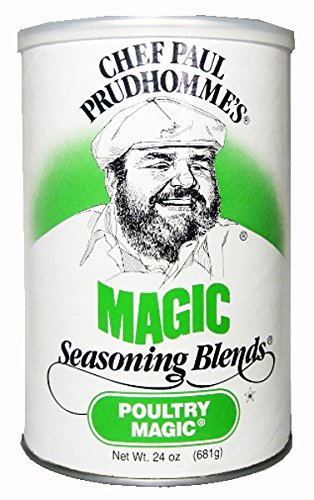 Chef Paul Poultry Magic Seasoning, 24-Ounce Canisters (Pack of 2) - Chef Paul Seasoning
