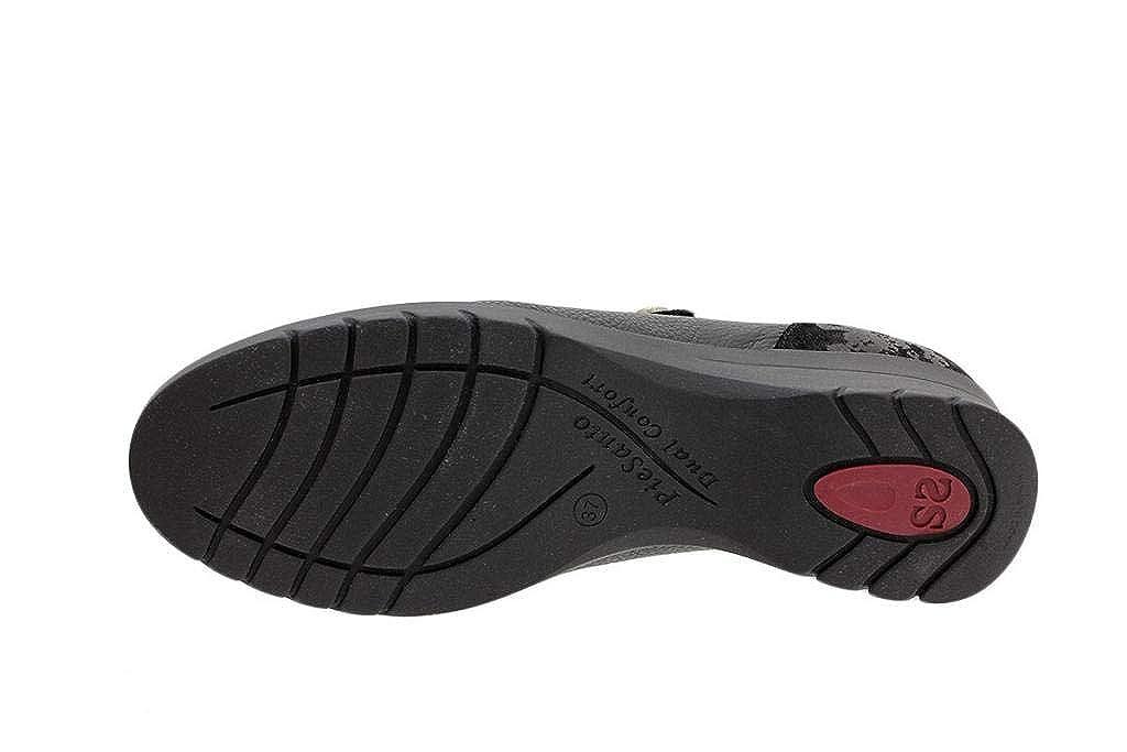 Zapato Cómodo Mujer Mujer Mujer Zapato Velcro 185962 PieSanto 203ae8
