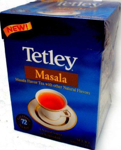 Tetley Masala Tea - NEW! (72 tea bags) (Loose Leaf Tea Tetley)