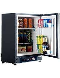 SMAD Countertop Portable Gas Fridge Camper, GAS/110V/12V, 2.1 Cu.Ft