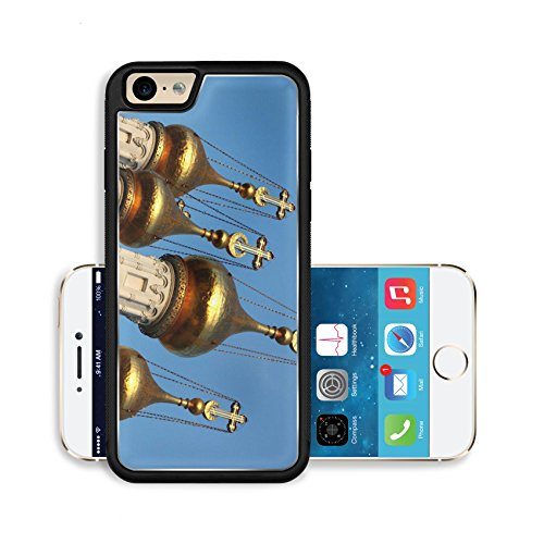Liili Premium Apple iPhone 6 iPhone 6S Aluminum Backplate Bumper Snap Case Onion shaped Russian church spire Photo 11745370