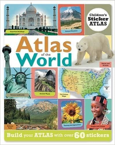 Atlas of the World: Children's Sticker Atlas