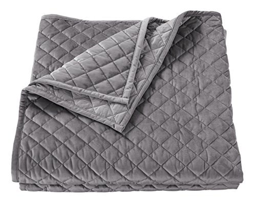 HiEnd Accents Velvet Quilt, King by HiEnd Accents