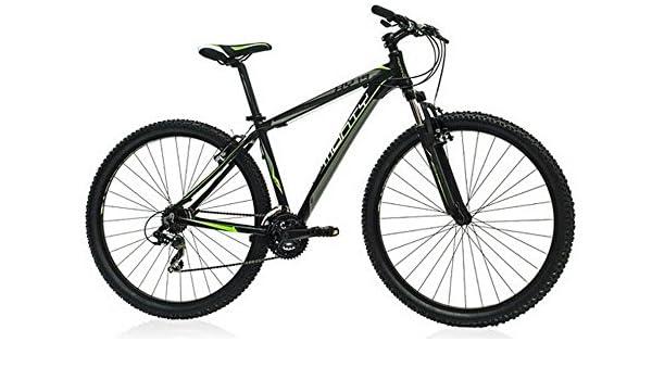 Monty MTB KY19 - Bicicleta Unisex, Color Negro, 20