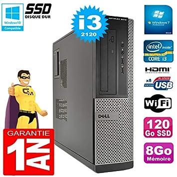 Dell PC 3010 DT Core i3 - 2120 RAM 8 GB Disco 120 GB SSD Grabador ...