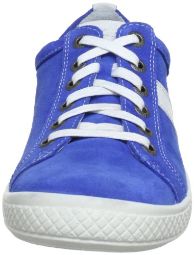 Superfit Avrile 30084 - Zapatos de cordones de cuero para niños Azul (Blau (Bluet 84))