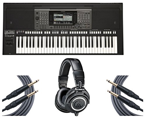 Yamaha PSR-A3000 61-Key World Arranger Keyboard + Headphones for sale  Delivered anywhere in USA