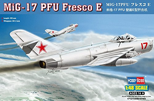 Hobby Boss MiG-17 PFU Fresco E Airplane Model Building Kit