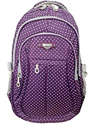 Girl Multipurpose Dot Primary Junior High University School Bag Bookbag Backpack