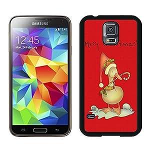 Best Buy Christmas duck Black Samsung Galaxy S5 Case 1