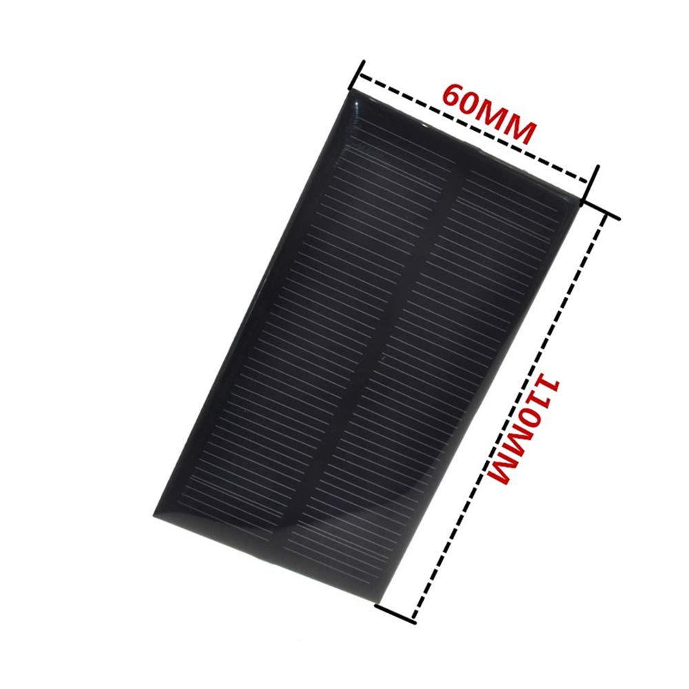 Integrated Circuits Smart Electronics Solar Panel 1w 5v Electronic Diy Small Solar Panel For Cellular Phone Charger Home Light Toy Etc Solar Cell