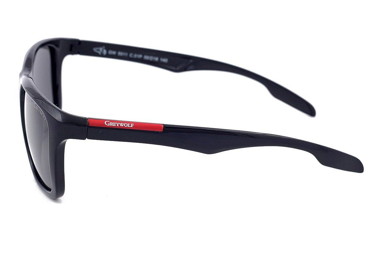 d6443a2fa1 Gafas de sol polarizadas para conducción de lobo gris para hombres de  pesca, ciclismo, deporte, lentes de color gris claro, protección contra  rayos UV400, ...
