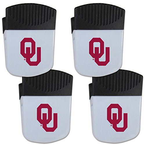 - Siskiyou NCAA Oklahoma Sooners Chip Clip Magnet with Bottle Opener, 4 Pack