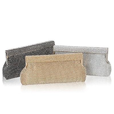 Hynes Victory Full Crystal Rhinestone Evening Handbags