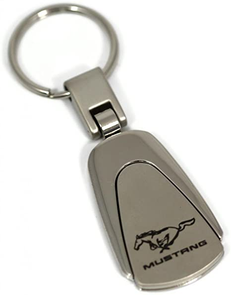 dantegts Ford Mustang GT Logo estilo llavero cromo llavero ...